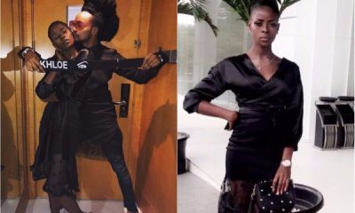 "#BBNaija: Disqualified Housemate, Khloe Reunites With Her ""Big-Brother"" Denrele"