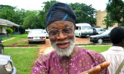 Breaking News! Renowned Playwright Professor Akinwunmi Isola Is Dead