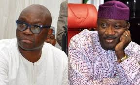 Governorship candidate of the All Progressives Congress in the Ekiti State Governorship Election, Dr. Kayode Fayemi, has been declared the winner