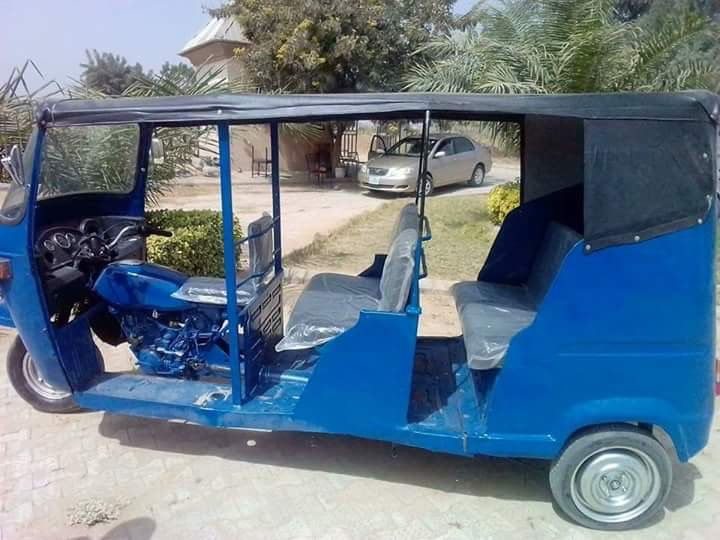Double Seater Tricycle Constructed By University Of Maiduguri Students