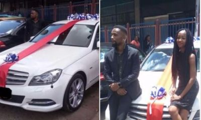 20-Year-Old Lady Procures Loan From Her Father To Buy Her Boyfriend A Mercedes For Valentine