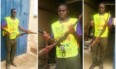 Lord's Chosen Pastor Forcefully Collects Guns From Armed Robbers