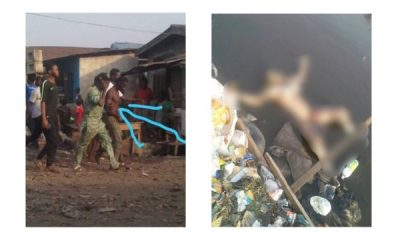 Man Beats Wife To Death, Dumps Her Body Inside The Lagoon In Lagos