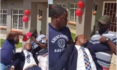 Man Faints After His Girlfriend Surprised Him With A 2-Bedroom House