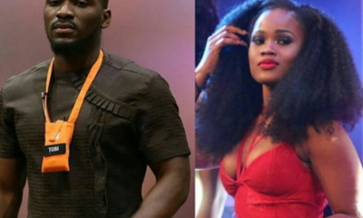 #BBNaija: Tobi Re-Unites With Cee-C, Discloses How Much He Earns Annually.