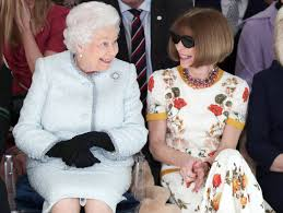 The Queen Makes Surprise Visit To London Fashion Week Front Row