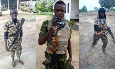 Young Nigerian Soldier Dies In Accident On His Way Home From Battle