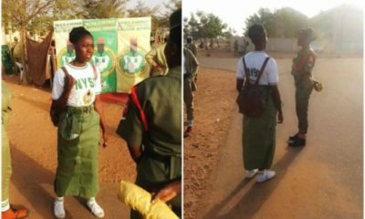 """Corp Member Spotted IN """"NYSC Skirt"""" In Sokoto"""