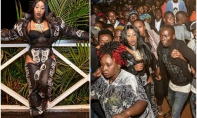 'You Deserved The Hot Slap' -Victoria Kimani Calls Out Fan Who Grabbed Her Ass