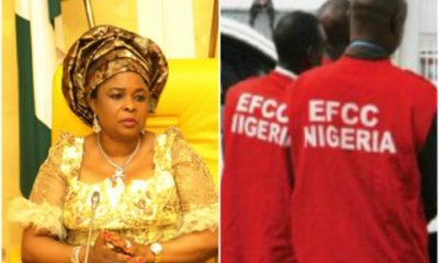 'Let's Settle Out Of Court' – Patience Jonathan Begs EFCC