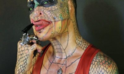 Trans-Species Woman who Identifies As a Reptile Has Spent More Than £42,000 Turning Herself Into a Dragon