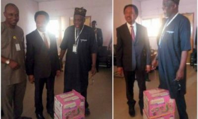 Senator Shehu Sani Storms JAMB Office With Anti-Snake Venom And Snake Charmers
