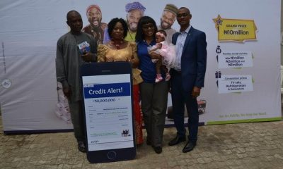 Fidelity Bank's Prize Presentation Ceremony For Winners That Emerged At The Bank's 4th Monthly /2nd Bi-Monthly Draw Of Its Get Alert In Millions Promo Reloaded