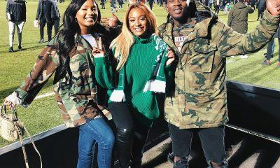 Naija For Life! Temi Otedola, DJ Cuppy & Mr Eazi Show Support For Super Eagles