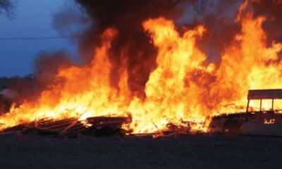 600 Shops Destroyed, Millions Lost As Fire Razes Bida Market