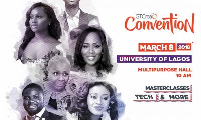 The GTCrea8 Convention for Undergraduates Holds March 8
