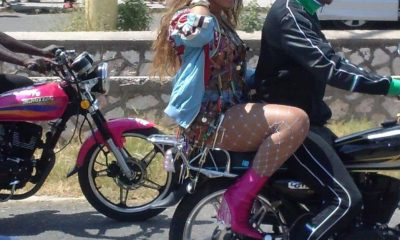 On The Run! Beyoncé And JAY-Z Seen Cruising On A Motorcycle In Jamaica