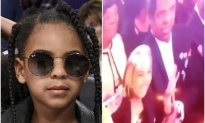 6 Year Old Blue Ivy Bids $19,000 (N6.8million!) On Art And Jay Z's Reaction Is Priceless