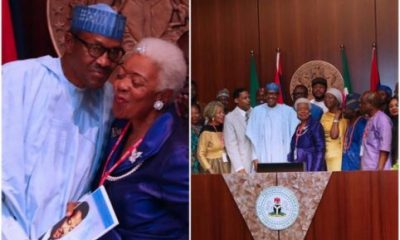 President Buhari Receives Late Martin Luther King Jnr's Family