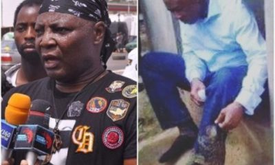 Charly Boy Apologizes To Senate President Saraki Over Wrong Information