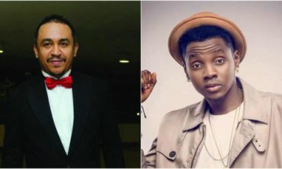 Daddy Freeze Calls out Kiss Daniel For Wearing A Fake Louis Vuitton Dress