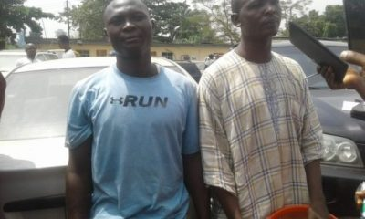 Father And Son Arrested For Selling Hard Drugs To School Pupils In Lagos