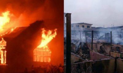 Fire Razes Binukonu Market Ojota, Goods Worth Millions Destroyed