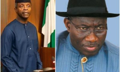 'Goodluck Jonathan shared N150bn two weeks Prior To 2015 Election' – Osinbajo