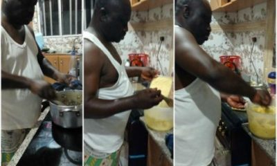 Help Your Wives, You Won't Die' – Retired Nigerian Soldier Says On Kitchen Takeover