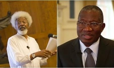 I Spoke With GEJ About Chibok Girls, He Said That Is My Problem – Soyinka