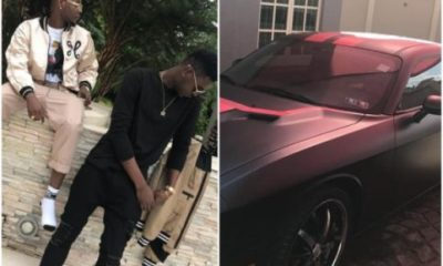 Kiss Daniel Gives His Brother His Old Car As Birthday Gift