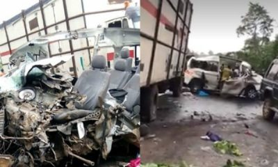Lady Survives Fatal Accident Moments After She Arrived Nigeria For Easter