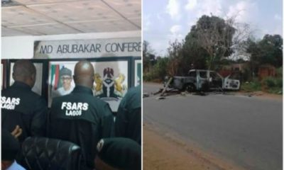 Many Feared Dead As Youths Clash With SARS Officers In Anambra State