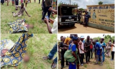 Mentally Challenged Man Butchers Two Students During Break In Ogun State