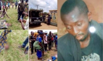 Mentally-Deranged Who killed Two Ogun School Pupils Confesses