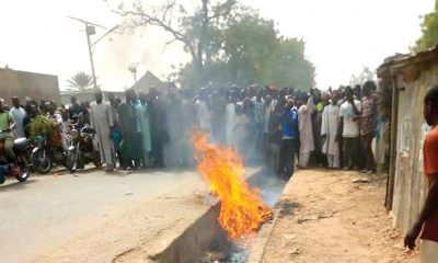 Nasarawa Man Lynched For Allegedly Robbing, killing Pregnant Woman