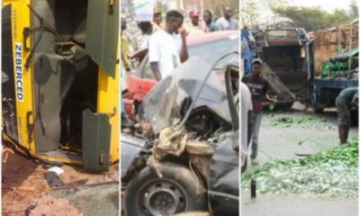 Multiple Car Crash Leaves 10 People Dead In Abuja