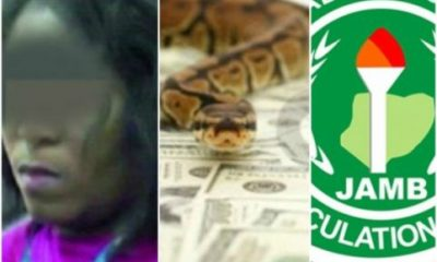 N36m Was Collected By My Superior, Not Snake' -JAMB Official Changes Statement