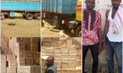 NDLEA Operatives Intercepts Truckload Of Codeine Drugs In Katsina State