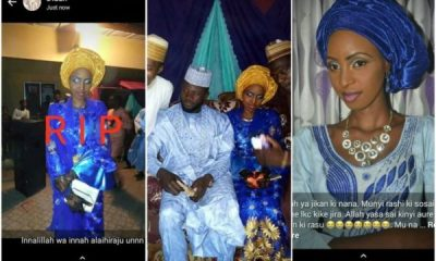 Nigerian Lady Dies 3 Days After Her Wedding From Fire Accident