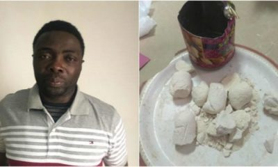 Nigerian Nabbed With 1.21 kg Of Heroin In India, Claims He Is HIV Positive
