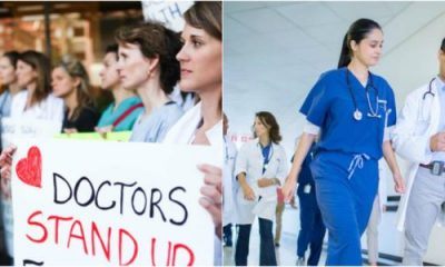 Canadian Doctors Protest, Say They're Being Paid Too Much