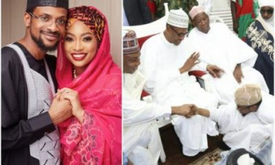 Photos From Governors Ganduje And Ajimobi's Children's Wedding With President Buhari In Attendance