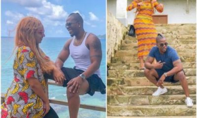 Photos From Juliet Ibrahim And Iceberg Slim's Birthday Vacation At Sao Tome Island