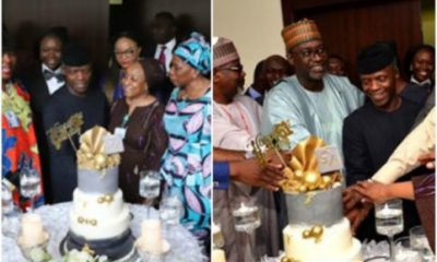 Photos From Vice President Yemi Osinbajo's 61st Birthday Celebration