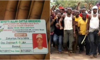 Police Probe Miyetti Allah ID Card Allegedly Found At Scene Of Bloody Attack