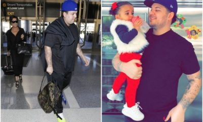 Rob Kardashian Spots A New Look In Fresh birthday pictures