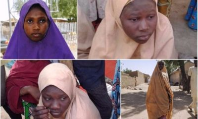 See photos of the Dapchi school girls released today