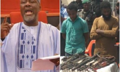 Senator Dino Melaye denies fleeing Nigeria, says 'they are' after his life