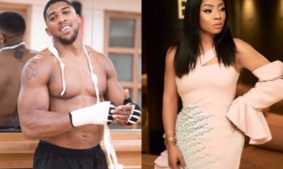 Toke Makinwa Feels Disappointed In Anthony Joshua's Statement